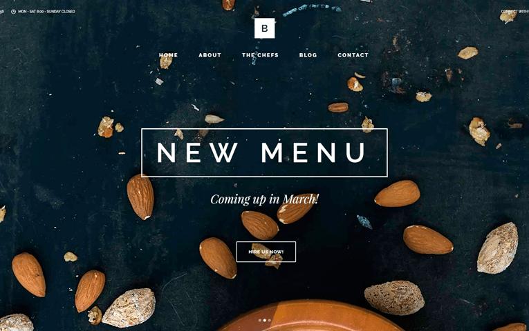 webs para restaurantes