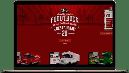 diseño web para food trucks