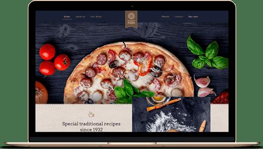 diseño web para restaurantes y pizzerías