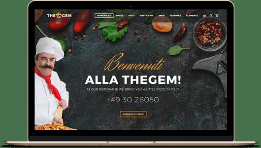 webs especializada en restaurantes