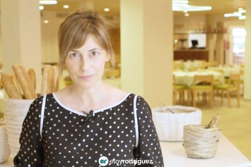 Virginia Contreras la hotelista