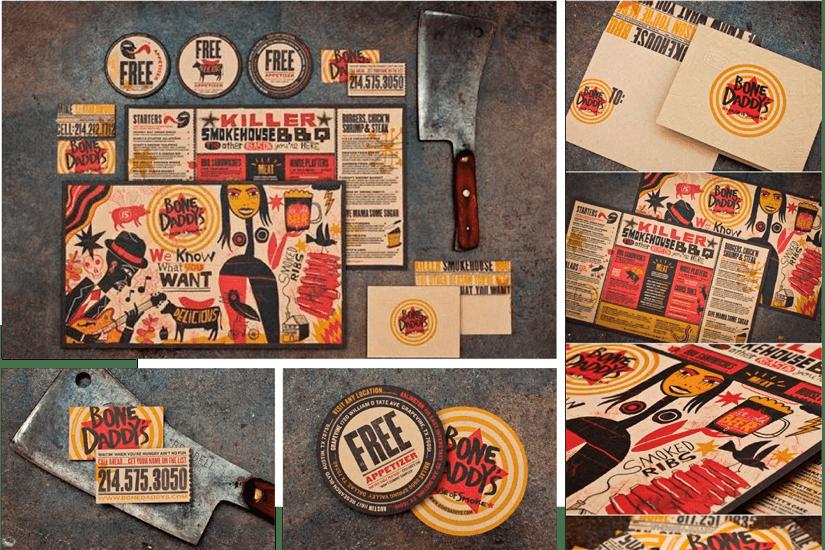 Portfolio diseño grafico restaurantes