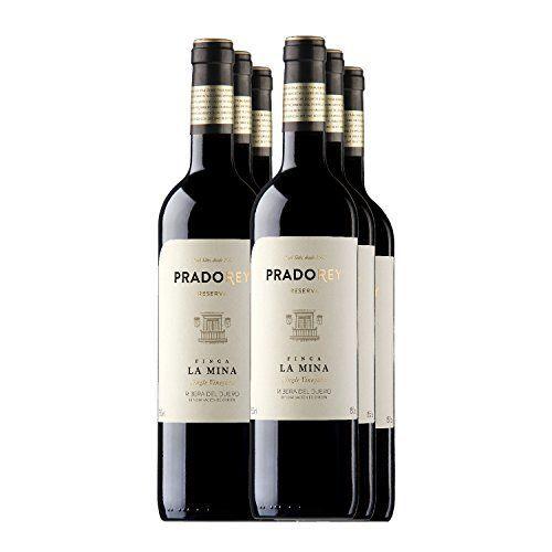PRADOREY Finca La Mina-Vino tinto-Reserva-Ribera del Duero-6 Botellas-0,75 L